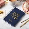 Personalised Joyful 2022 Weekly Diary