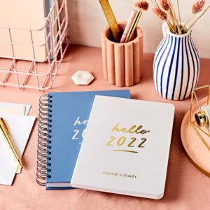 Weekly 2022 Diaries