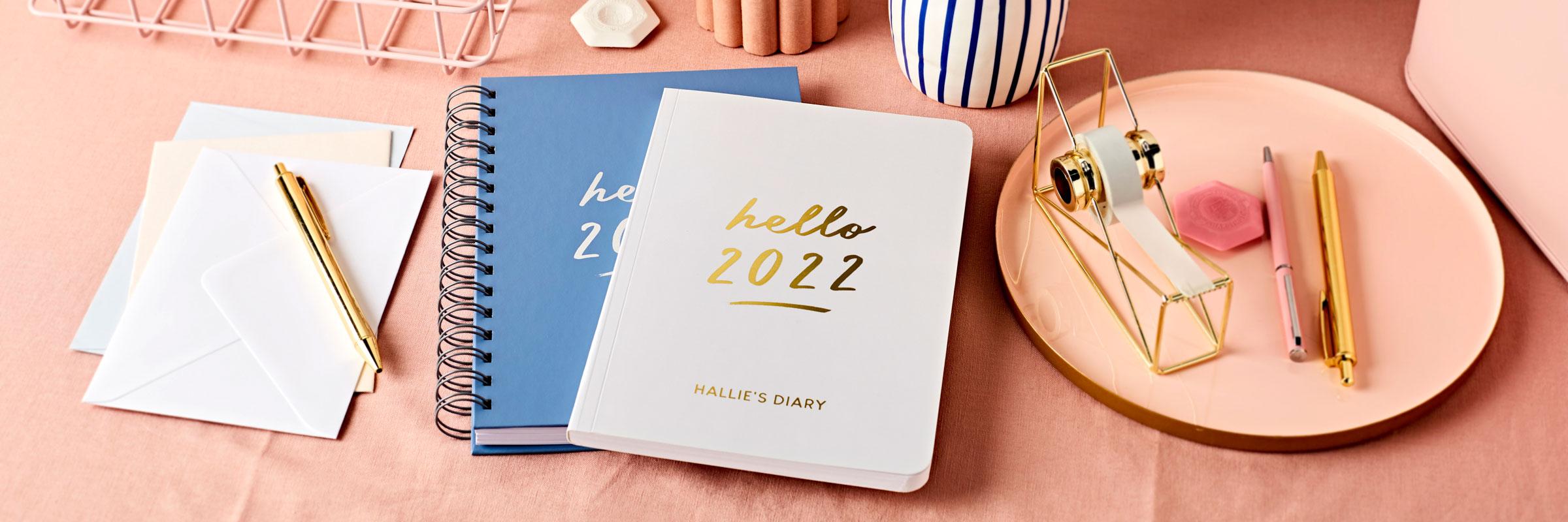 Martha Brook Weekly 2022 Diaries