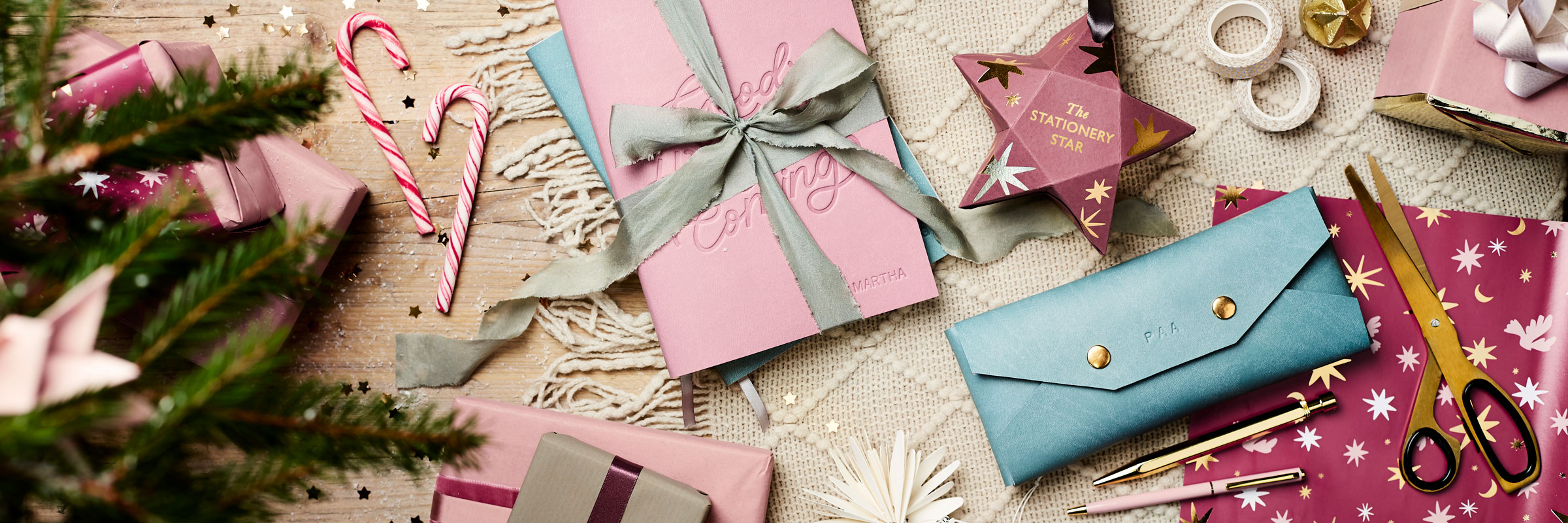 Martha Brook Christmas Gifts Personalised Stationery