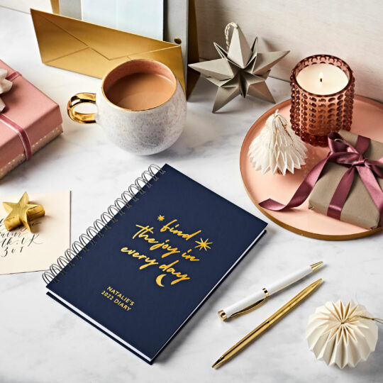 Martha Brook Personalised Diaries and Books