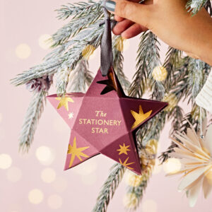 The Stationery Star Christmas Decoration Gift